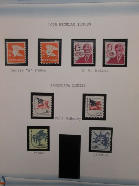 US COMMEMORATIVES An expansive used collection of close to 2,000 different  issues with primary focus placed on the second half of the 20th century