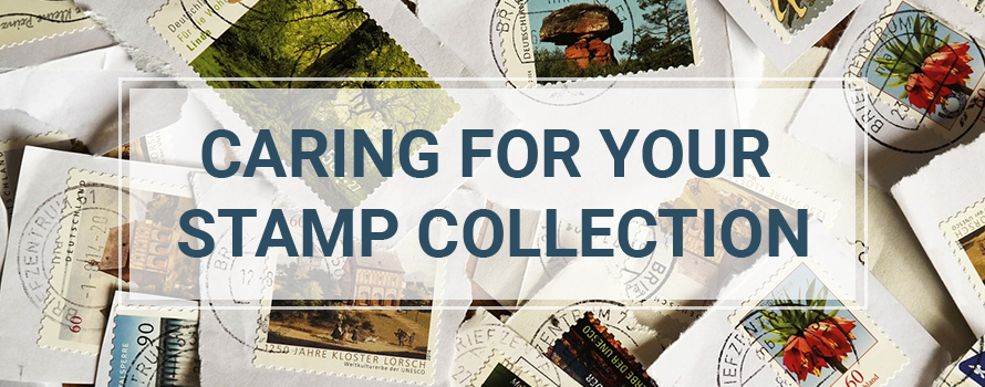 Preserve your stamp collection
