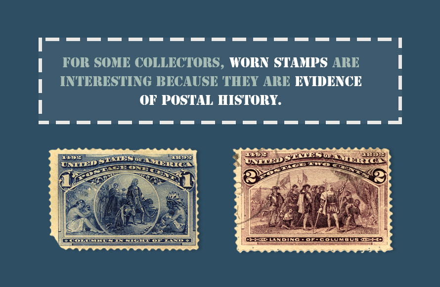 Has The Stamp Been Used On An Envelope Although You May Be Able To Soak It Off Its Better Leave In Place Or Cover