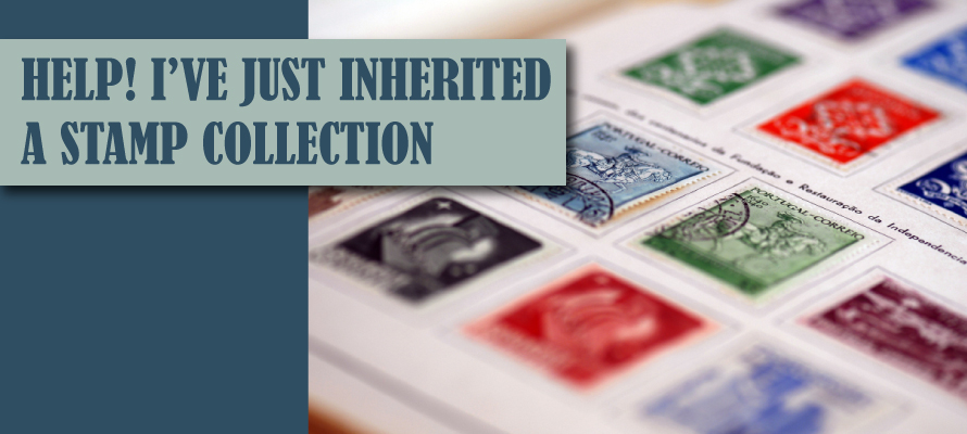 Inherited a stamp collection