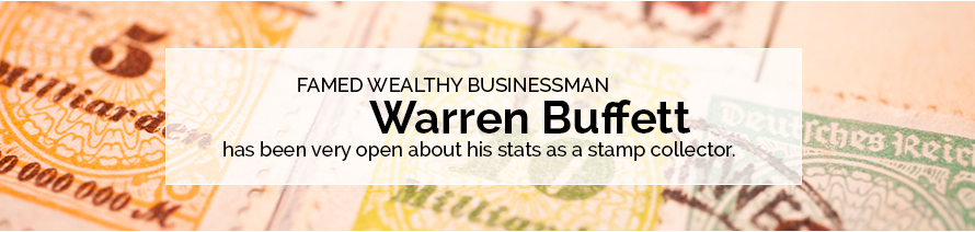 Famous Stamp Collector - Warren Buffett